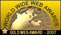 WWW Gold Award July 2007